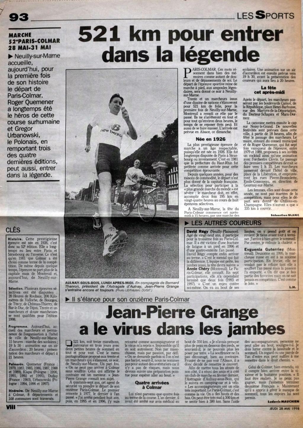 """PARIS-COLMAR 1998...""""photos vintage"""" d'une belle histoire... Dscf9810"""