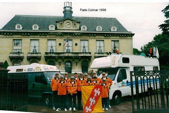 """PARIS-COLMAR 1998...""""photos vintage"""" d'une belle histoire... Paris-10"""