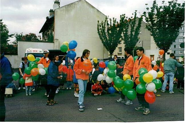 """PARIS-COLMAR 1998...""""photos vintage"""" d'une belle histoire... Paris_11"""