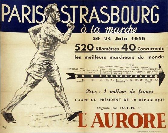 Paris-Strasbourg l'épopée de La Marche Hector MAHAU Paris_17