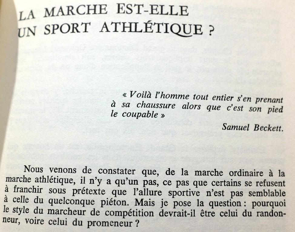 "Gérard ROIG ""DU SEMI MARATHON A 500KM A PIED"" Playdo12"