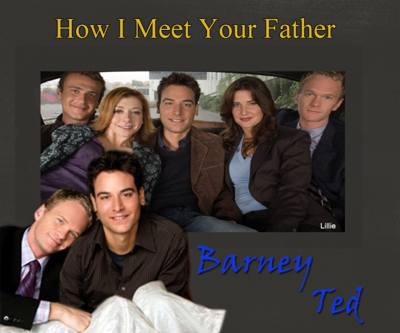 How I Meet Your Mother-Sans Titre-Barney/Ted-G Barney10