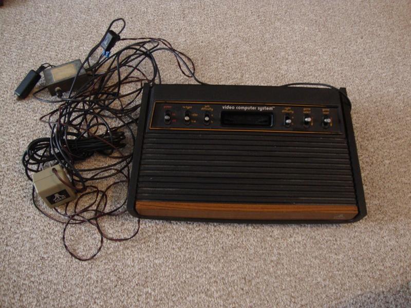 SOLD:  Atari 2600 & Coleco Vision Lot & 27 Games w/ Pics Dsc01110