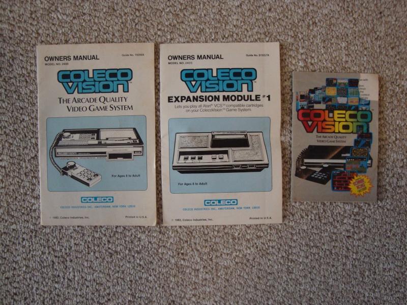 SOLD:  Atari 2600 & Coleco Vision Lot & 27 Games w/ Pics Dsc01115