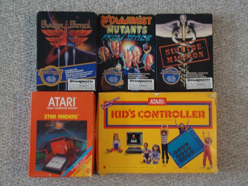 SOLD:  Atari 2600 & Coleco Vision Lot & 27 Games w/ Pics Dsc01116