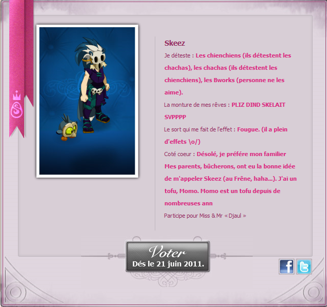 [EVENT ANKAMA] Faites-vous connaître pour le concours de Miss&Mister Amakna ! Mister10