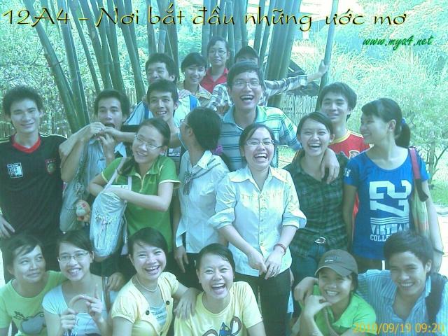 Lớp 12A4 Nông Cống 2