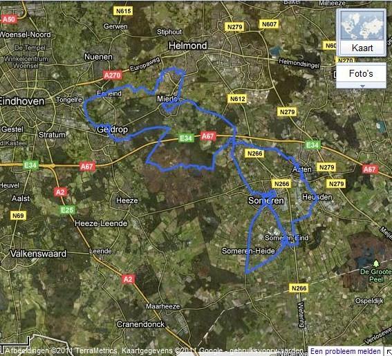 Marche Kennedy (80km) de Someren (NL): 2-3 juillet 2011 Parcou10