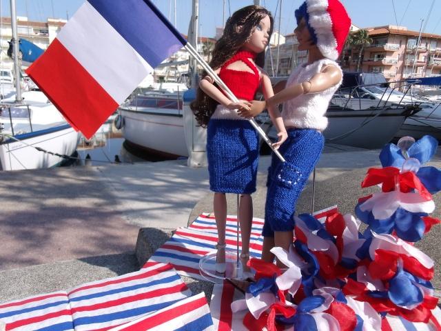 """08 - THEME PHOTO DU MOIS: Juillet 2011 """"Bleu Blanc Rouge"""" Canet_12"""