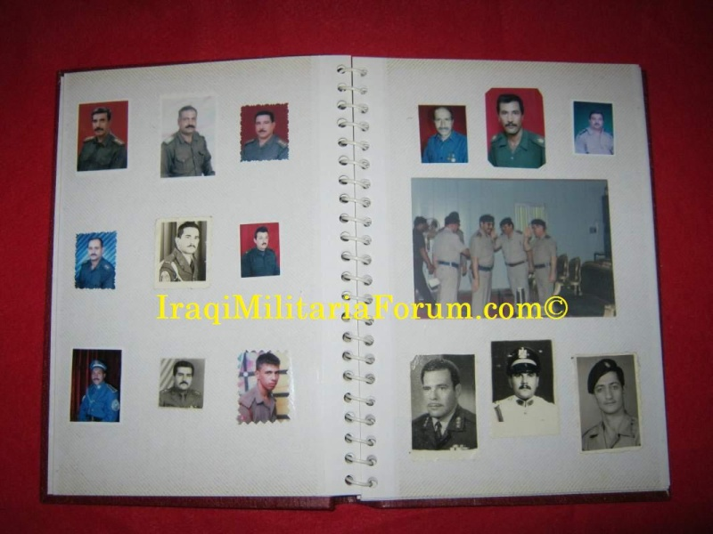 Iraqi Military Photo Album Book #1 of 12 books  410