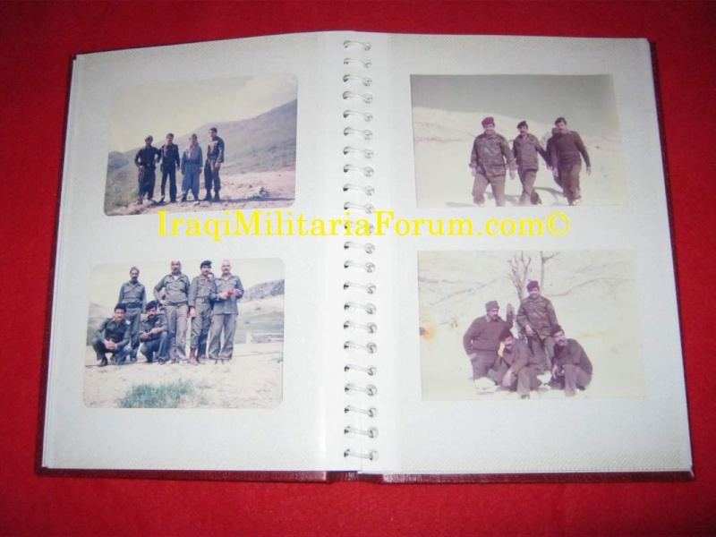 Iraqi Military Photo Album Book #1 of 12 books  610