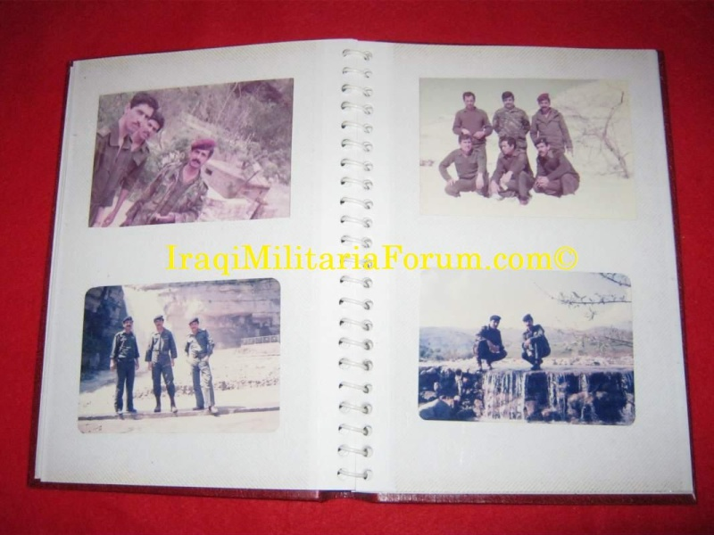Iraqi Military Photo Album Book #1 of 12 books  711