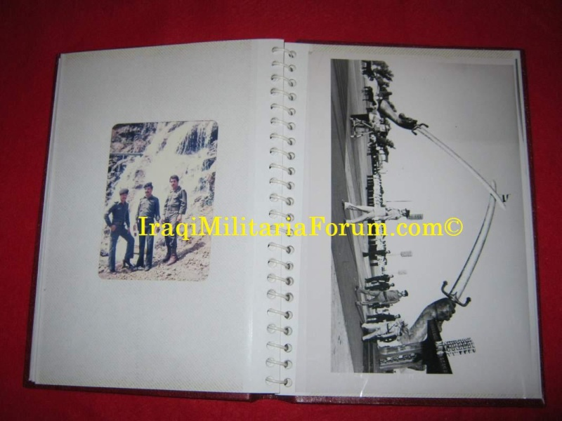 Iraqi Military Photo Album Book #1 of 12 books  810