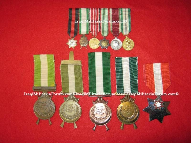 Iraqi Kingdom GSM/ASM Gallantry Medal with Kurdish Clasp 1932 Kingdo10