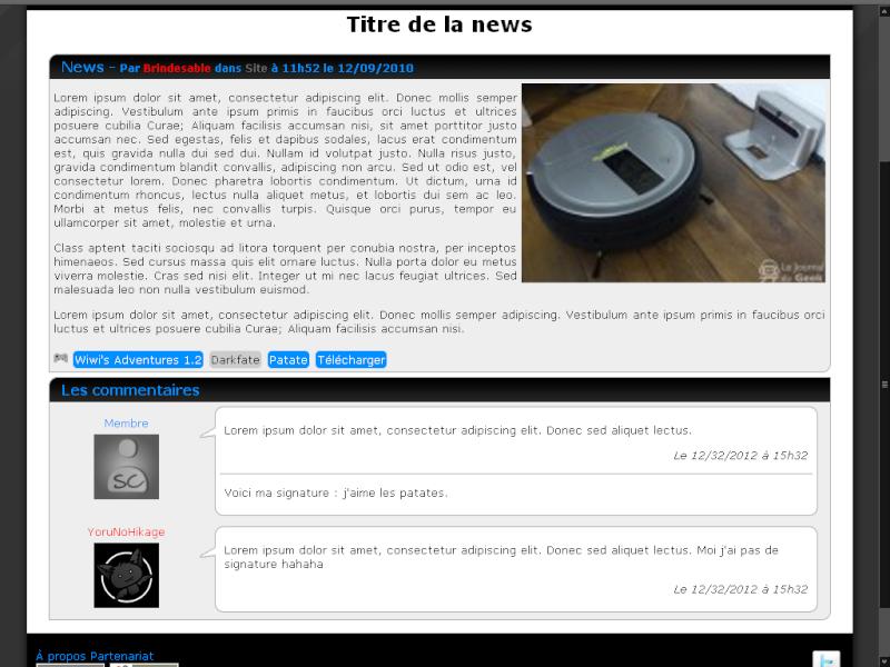 News - SwitchCode.fr.nf (prochainement JeuxAmateurs) Screen10