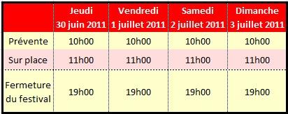 Japan expo : 30 juin au 3 juillet 2011 au Parc des Expositions de Paris-Nord Villepinte : Infos & Goodies Horair10