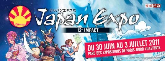 Japan expo : 30 juin au 3 juillet 2011 au Parc des Expositions de Paris-Nord Villepinte : Infos & Goodies Japan-11