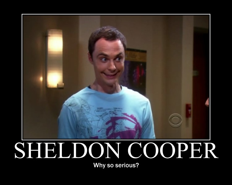 Sheldon Cooper [Série TV : the Big Bang Theory] Sheldo10