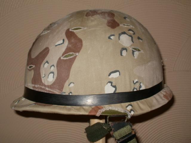 Saudi M1 Helmet cover P5300017
