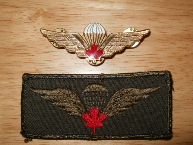 Canadian Para wings and patches help required. P6110029