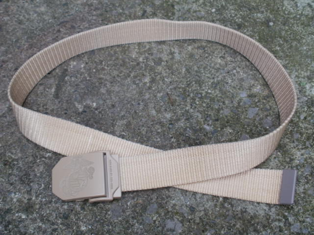 USMC Trouser Belt-Coyote tan...are these issued or is it commercial???????????? P6150013