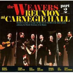 """""""The Weavers reunion at Carnegie Hall - Part 2"""" 411f6p10"""