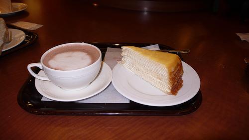 Mille-crêpes dessert Japonais 20661210