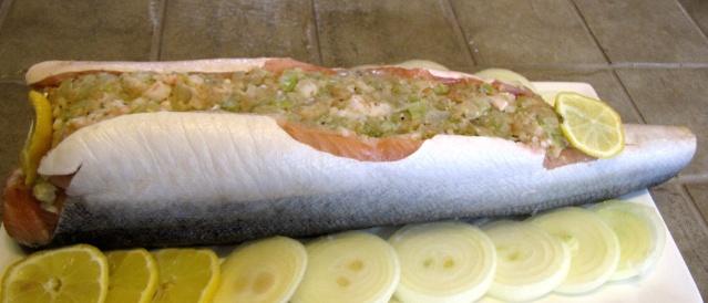Saumon ou truite farci aux crevettes _1_img22
