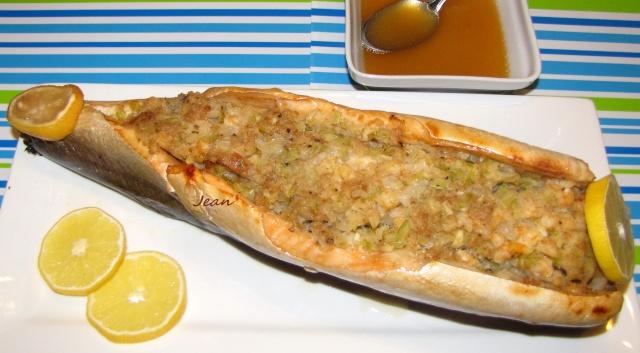 Saumon ou truite farci aux crevettes _1_img23
