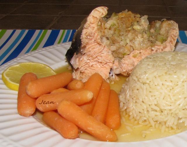 Saumon ou truite farci aux crevettes _1_img24