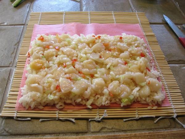 Sushis, aux pétoncles      ...noix de Saint-Jacques... Web_1_23