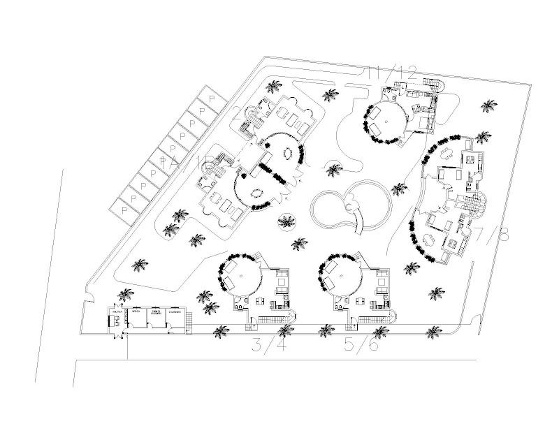 Nuovo complesso residenziale in costruzione a Watamu: WARIDI VILLAGE Planim10