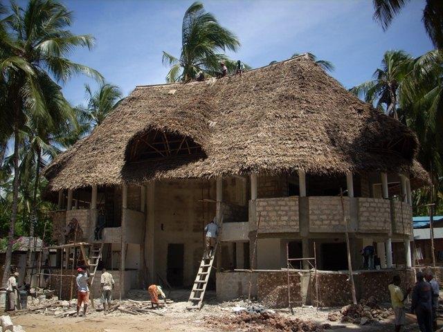 Nuovo complesso residenziale in costruzione a Watamu: WARIDI VILLAGE Tetto_10