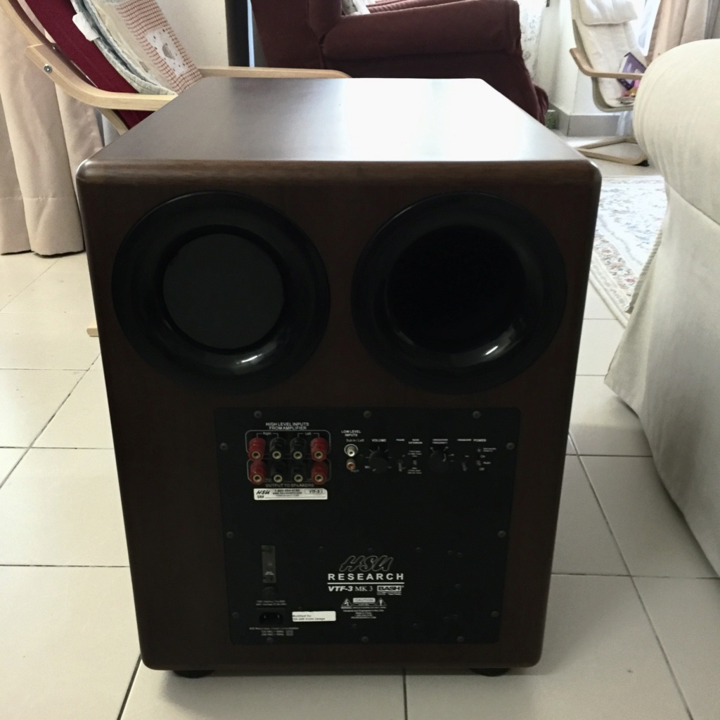 HSU Research VTF3-Mk3 subwoofer (used) SOLD 0afbe510
