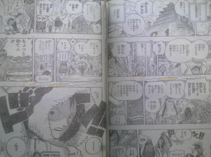 One Piece Manga 598 Spoiler Pics 00910