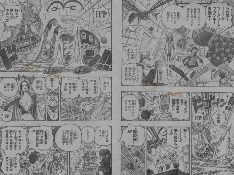 One Piece Manga 602 Spoiler Pics 310