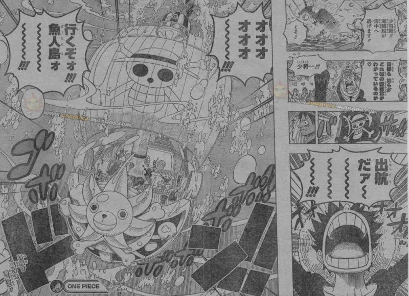 One Piece Manga 602 Spoiler Pics 410