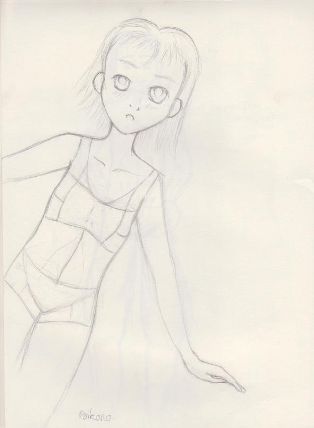 dessins en vracs (bikono) Gamine10