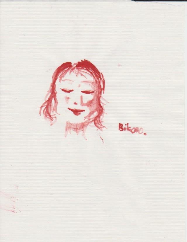 dessins en vracs (bikono) Rouge10