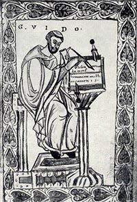Guido D´Arezzo, el monje que escribió los sonidos 1a10