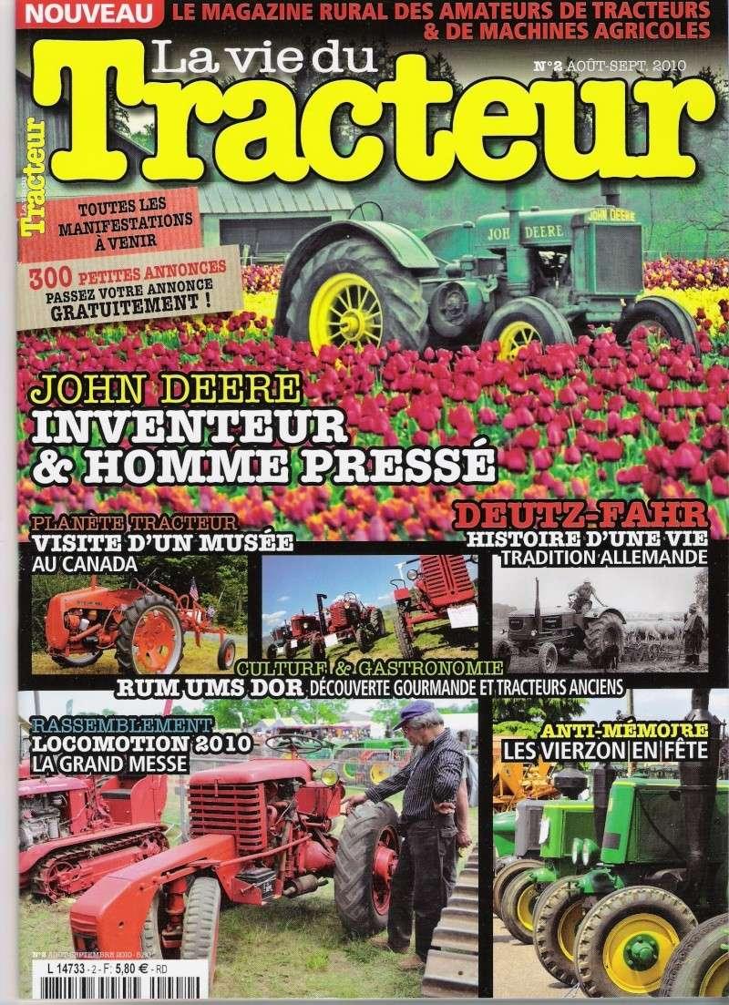 """On parle des Deutz anciens dans """"La vie du tracteur"""" Vie_du10"""
