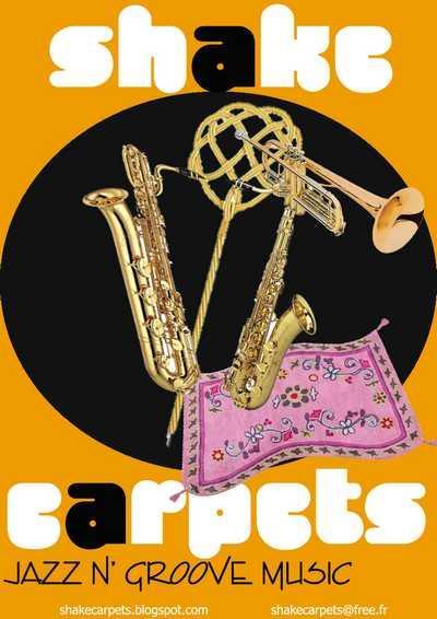 Les Shake Carpets Affich10
