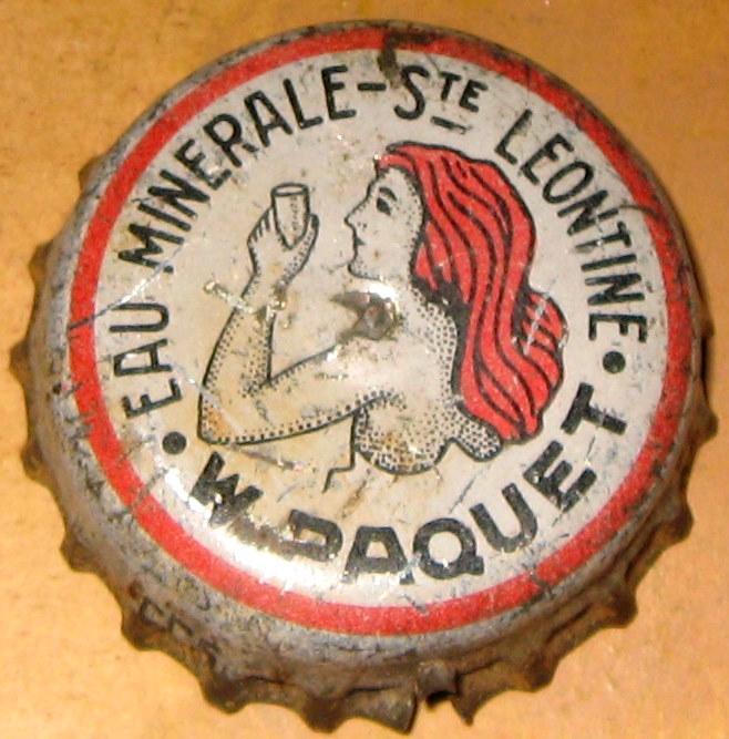 Eau minérale Ste-Leontine - Wilfrid Paquet Grand'Mère, PQ  Img_8128