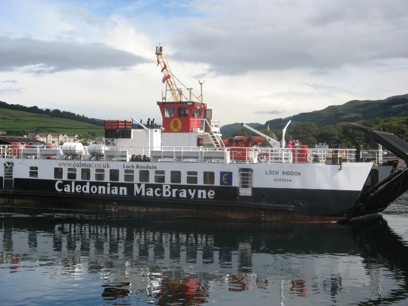 Calmac Ferry Loch Riddon 26211