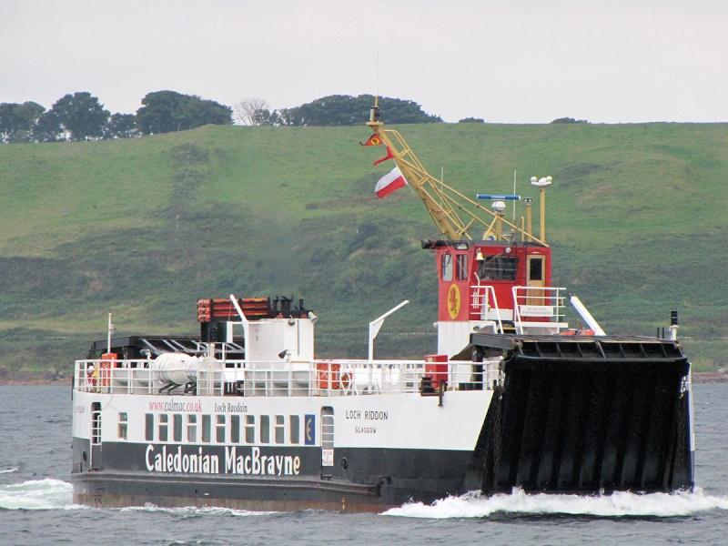 Calmac Ferry Loch Riddon Lochri11