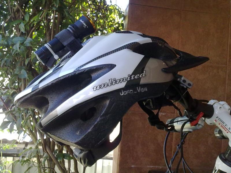 Lanterna para o capacete 21102010