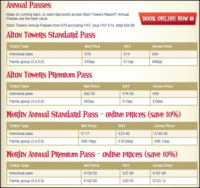 Alton Towers Theme Park Review Annual10