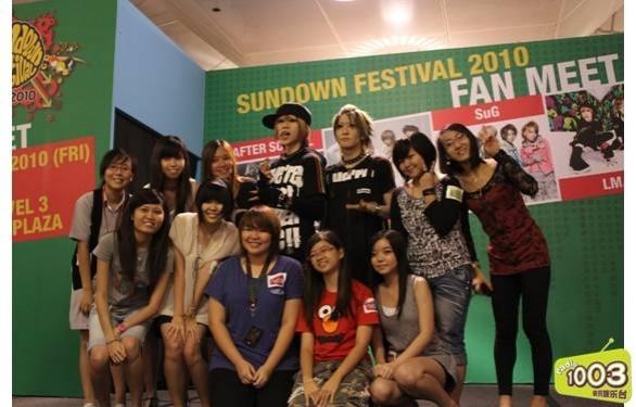 fan Meeting  & Concierto en Singapur 0610