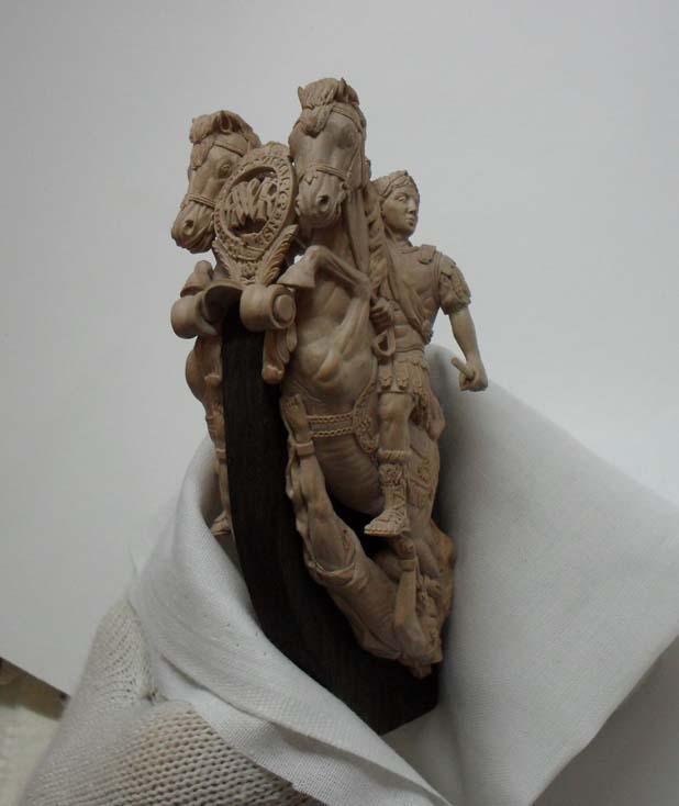 Fabrication de sculptures et décoration en bois pour voiliers. Bis10