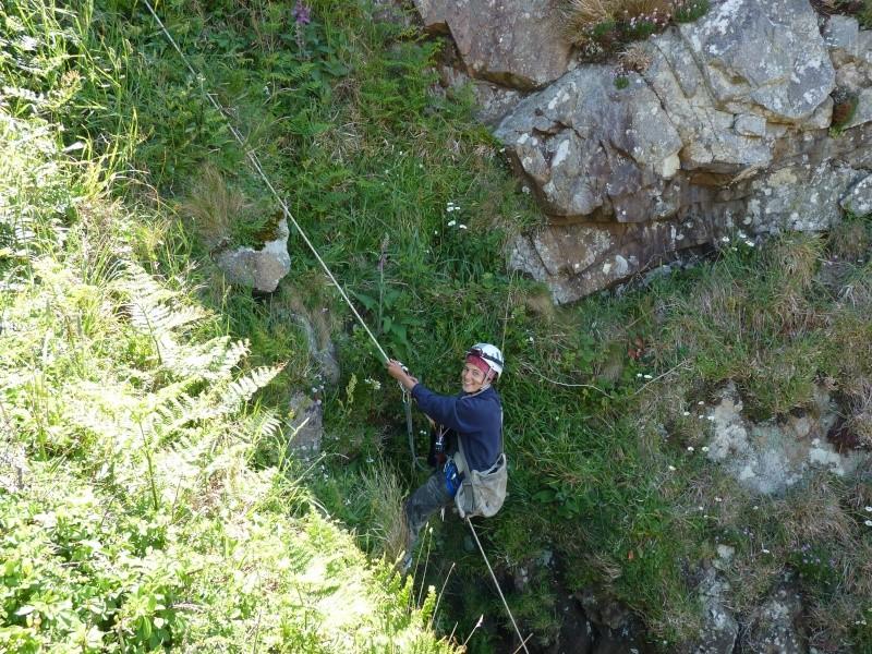 Suivi 2011 du Crave à bec rouge (Pyrrhocorax pyrrhocorax) en Bretagne P1000415